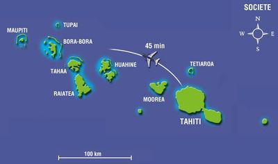 iles-sous-le-vent-polynesie - Photo