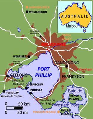 Carte-Melbourne dans Voyage Australie 2